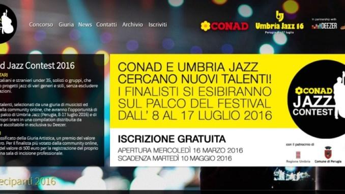 Conad jazz contest, sempre più spazio al talento ad Umbria Jazz