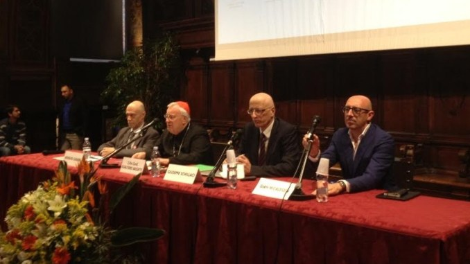 """Gualtiero Bassetti alla conferenza """"I cristiani in Medio Oriente"""