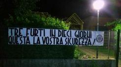 """Nido Ponte Pattoli, CasaPound: """"Questa è la vostra sicurezza!"""""""