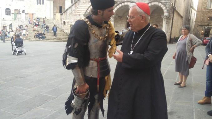 Perugia 1416, Cardinale Bassetti ringrazia Alexio Bachiorri