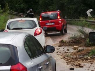 Allerta arancione sull'Umbria rischio frane e alluvioni