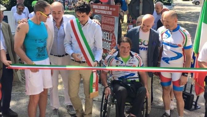 Perugia cardioprotetta, inaugurata colonnina defibrillatore percorso verde