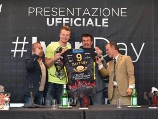 Sir Safety, #Ivanday… il primo abbraccio di Perugia ad Ivan Zaytsev