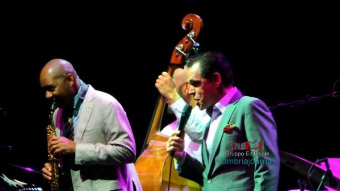 Branford Marsalis e Kurt Elling ad Umbria Jazz