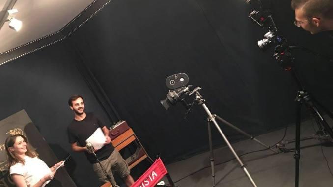 Un provino cinematografico a Perugia, Ciak si gira