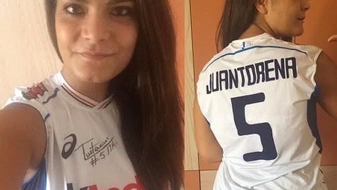 Asta beneficenza Associazione Sintini, maglia Juantorena è di Francesca