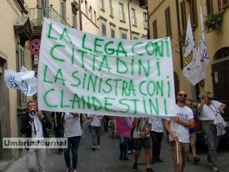 No ai clandestini sì alle famiglie che scappano dalla guerra a Città di Castello