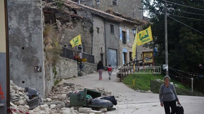 Sisma Umbria: continua la raccolta fondi della regione