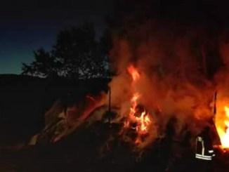 Due incendi durante la notte, ore di lavoro per i vigili del fuoco di Terni