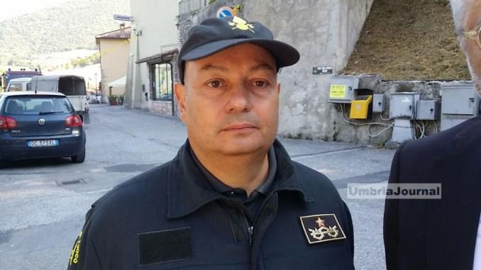 """Terremoto 6.0, sopralluogo Valnerina, Frezza: """"I nostri uomini sono nelle Marche"""""""