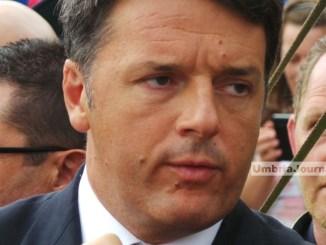 Congresso Pd, Matteo Renzi a Perugia con Maurizio Martina