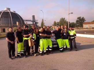 I volontari Geosipro e Archi Volo