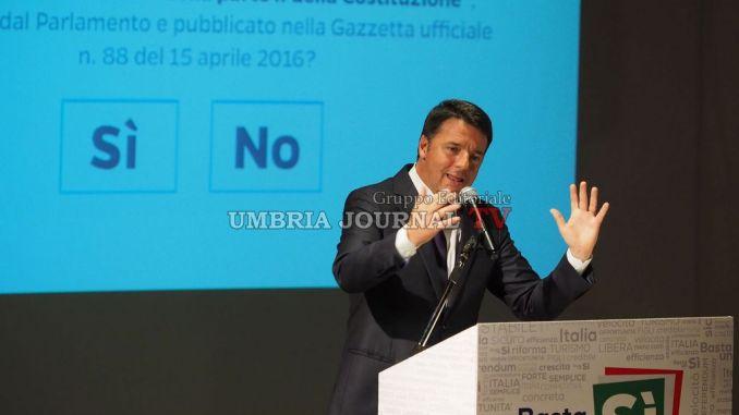 Pd, Matteo Renzi a Perugia. Appuntamentosabato pomeriggioal Capitini