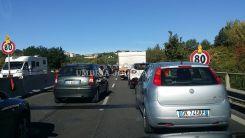 Perugia, auto si ribalta lungo la E45, bimbo di 4 mesi illeso