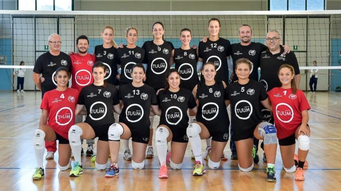Il team Tuum Perugia