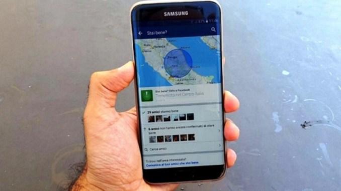 Terremoto, danni dai social all'economia, Perugia Assisi chiedono aiuto a Facebook