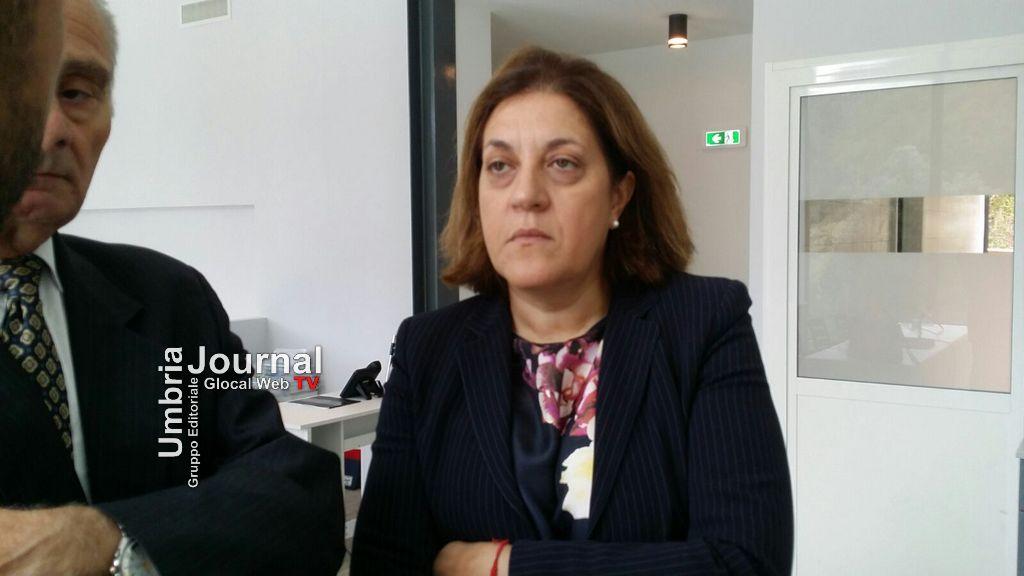 Catiuscia Marini (Presidente della Regione Umbria)