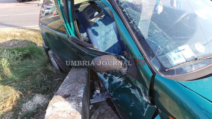 Incidente sulla Pievaiola a Perugia, tre persone ferite ...