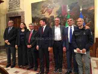 Sisma Umbria, presidente Marini, positiva impostazione della ricostruzione