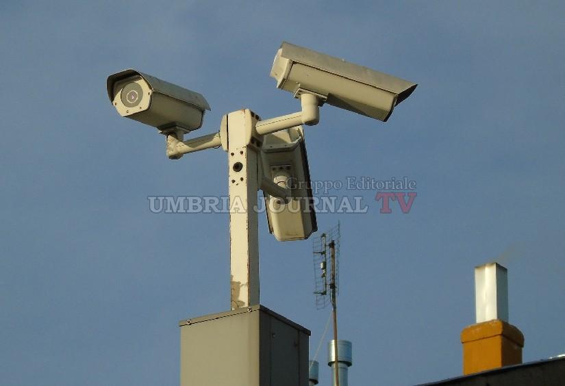 Nuove telecamere arrivano in città, più sicurezza a Perugia