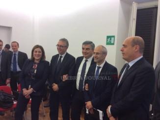Sisma 2016, firmato protocollo presidente Marini, legalità, trasparenza e sicurezza