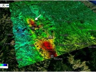 Terremoto Umbria Marche faglia attivata stessa struttura geologica di Amatrice