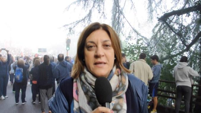Marcia della Pace Perugia-Assisi, il saluto della presidente Marini