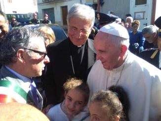 Papa Francesco riceve il vescovo di Spoleto Norcia Renato Boccardo