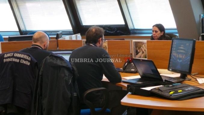 Allerta meteo in Umbria, prosegue monitoraggio della sala operativa della Protezione Civile