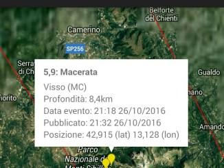 Terremoto Umbria Marche, altra scossa forte, magnitudo 5.9, scuole chiuse