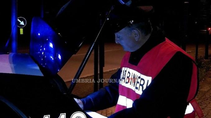 Controlli straordinari dei Carabinieri ad Assisi, 120 persone controllate