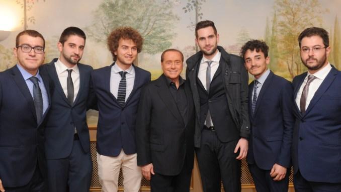 Gruppo Giovanile di Forza Italia Umbria, accolto da Silvio Berlusconi