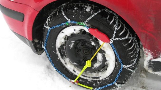 Umbria, Anas, obbligo di catene a bordo o pneumatici invernali sulle strade statali
