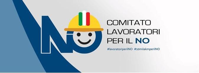 Gazebo informativi del Comitato Lavoratori per il NO a Perugia e Terni