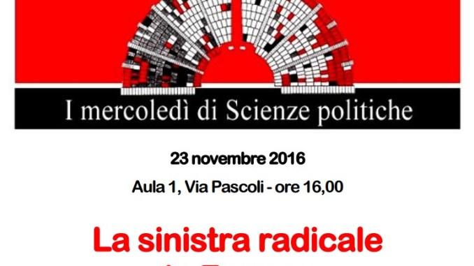 La Sinistra radicale in Europa, il libro di Marco Damiani a Perugia