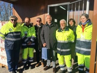 Terremoto, Vicesindaco di Perugia Barelli a Norcia incontra volontari Prociv