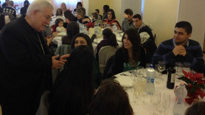 Perugia, Gualtiero Bassetti, a Natale a pranzo con 160 persone ospitate