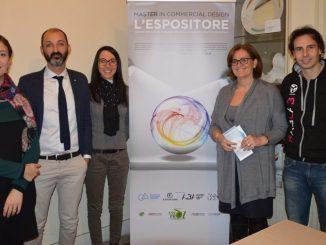 Da sinistra Elisabetta Furin, Matteo Gradassi, Irene Annetti, Angela Canale, Gianluca Sciarra