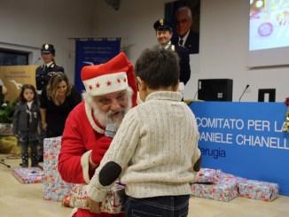 Babbo Natale dei Vigili del Fuoco al Residence Chianelli