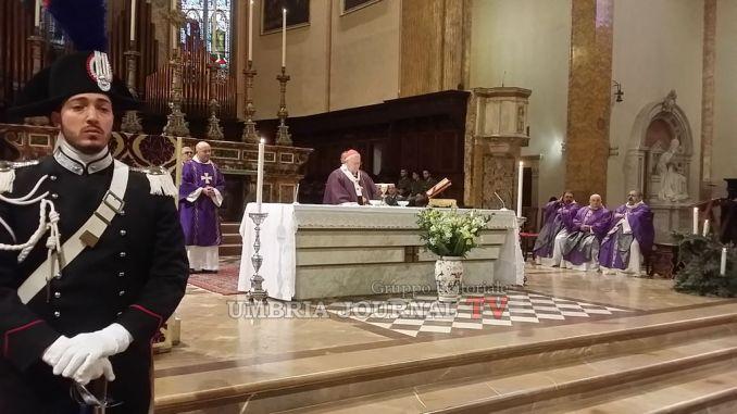 Santa Messa Forze Armate e Polizia, Cardinale Bassetti ha parlato dei terremotati