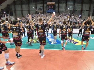 Sir Safety Conad Perugia batte Trento per 3 a 0 al PalaEvangelisti