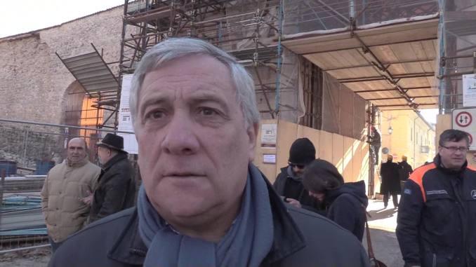 22 maggio, Antonio Taiani, Presidente Parlamento europeo, sarà in Umbria