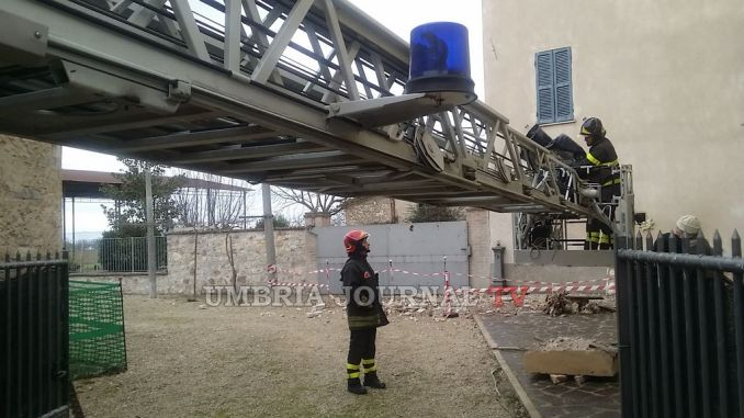 Terremoto Campello, ad Azzano tre edifici totalmente inagibili VIDEO