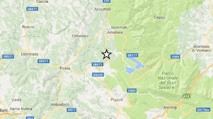 Forte scossa di terremoto in Centro Italia, magnitudo 5.3, avvertita anche in Umbria
