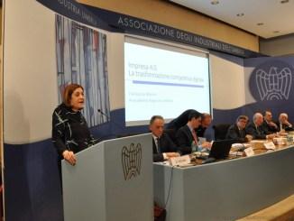 Presidente Marini interviene a incontro impresa 4.0 Regione vicina alle imprese umbre