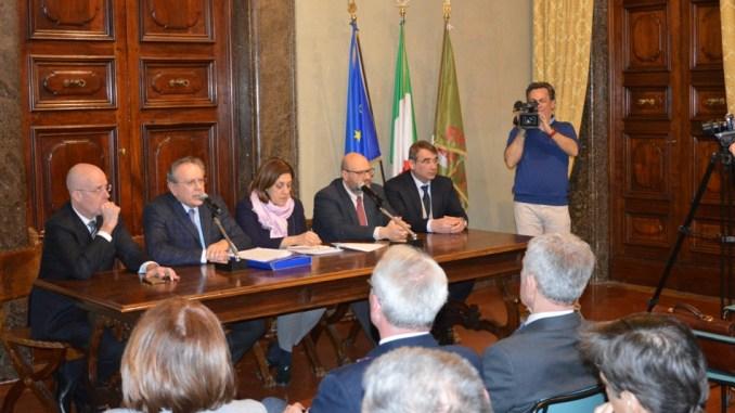 Da sinistra Rossetti, Santucci, Marini, Bartolini, Tili 1