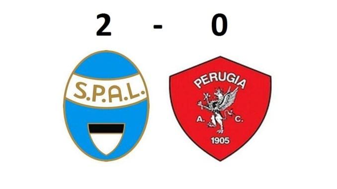 Il Perugia ha incassato a Ferrara una sconfitta per 2-0