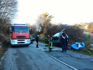 Incidente stradale nei pressi di Carsulae a Terni, ferito anziano