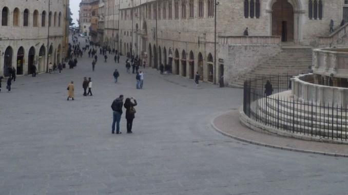 L'annunciata di Jacopo della Quercia da Norcia a Perugia
