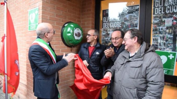 Progetto Cuore, Montelaguardia ha il suo defibrillatore